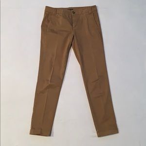 EUC Massimo Dutti cognac cotton tapered pants